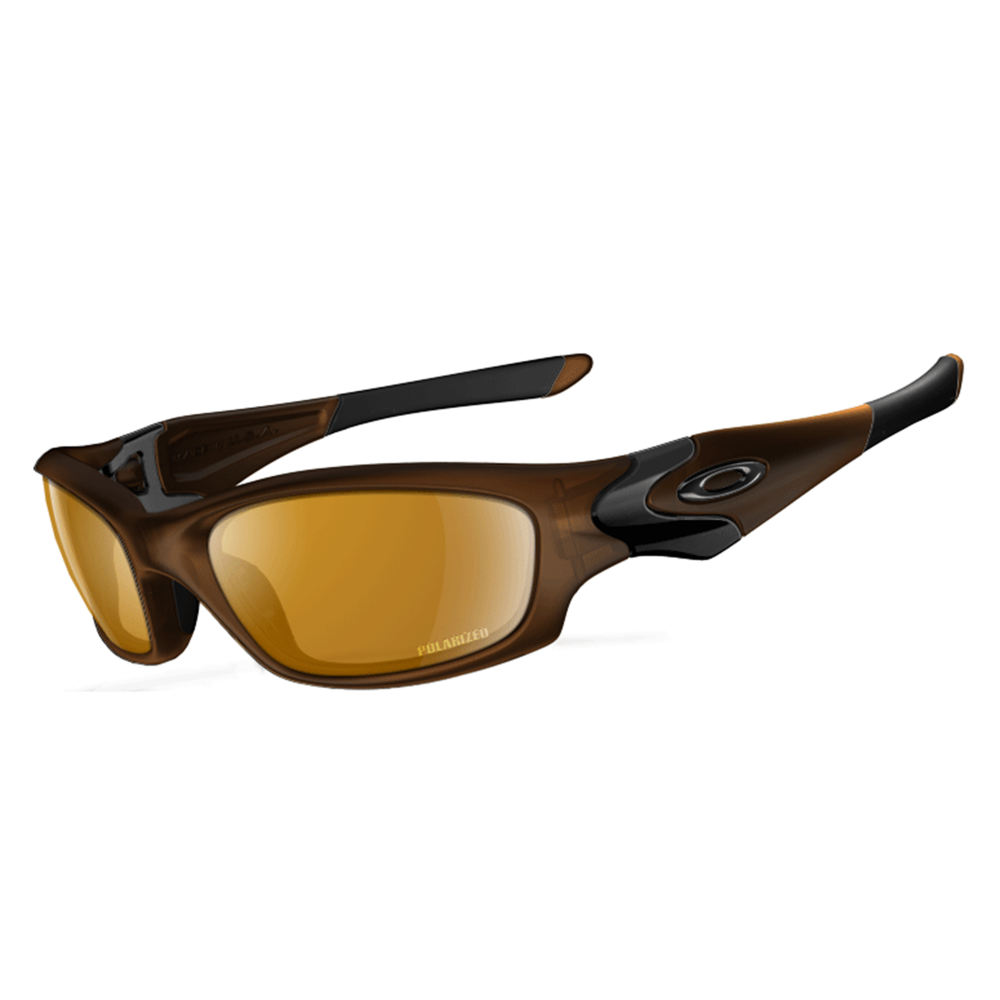 Polarized Oakley Straight Jacket Matte Rootbeer 12-936