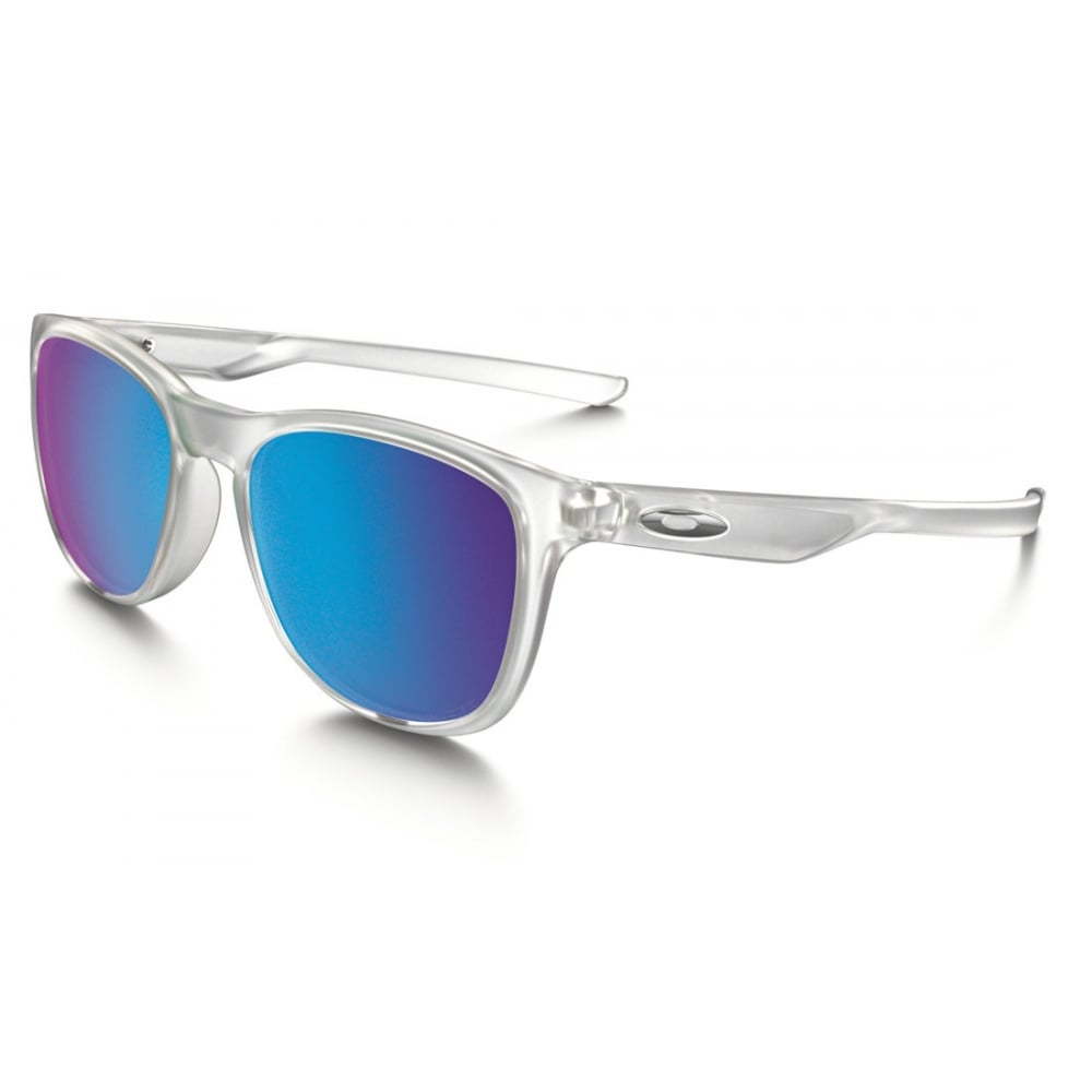 polarized oakley trillbe x sunglasses matte clear oo9340 05