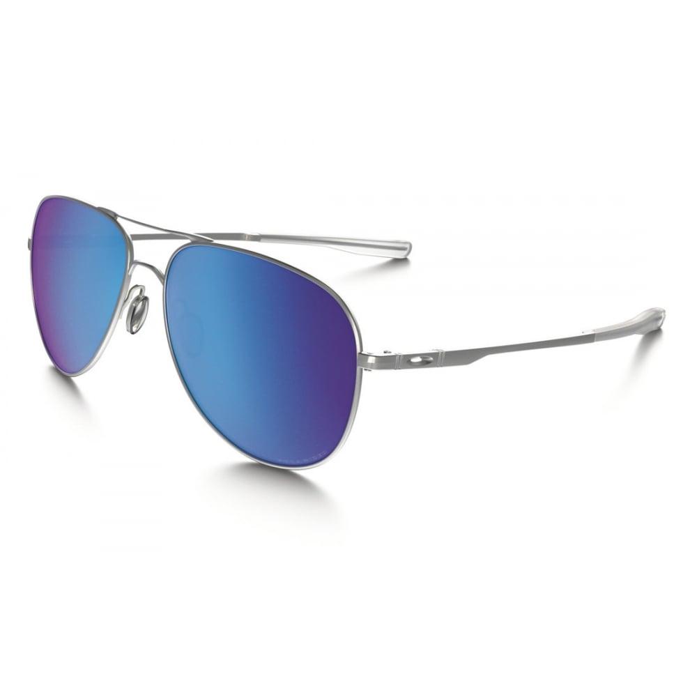 1ffdf8f0f3b Polarized Oakley Elmont Sunglasses Satin Chrome OO4119-0760