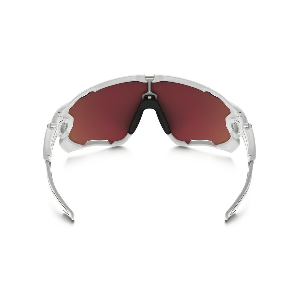 Oakley Prizm Jawbreaker Sunglasses Polished White Oo9290 21