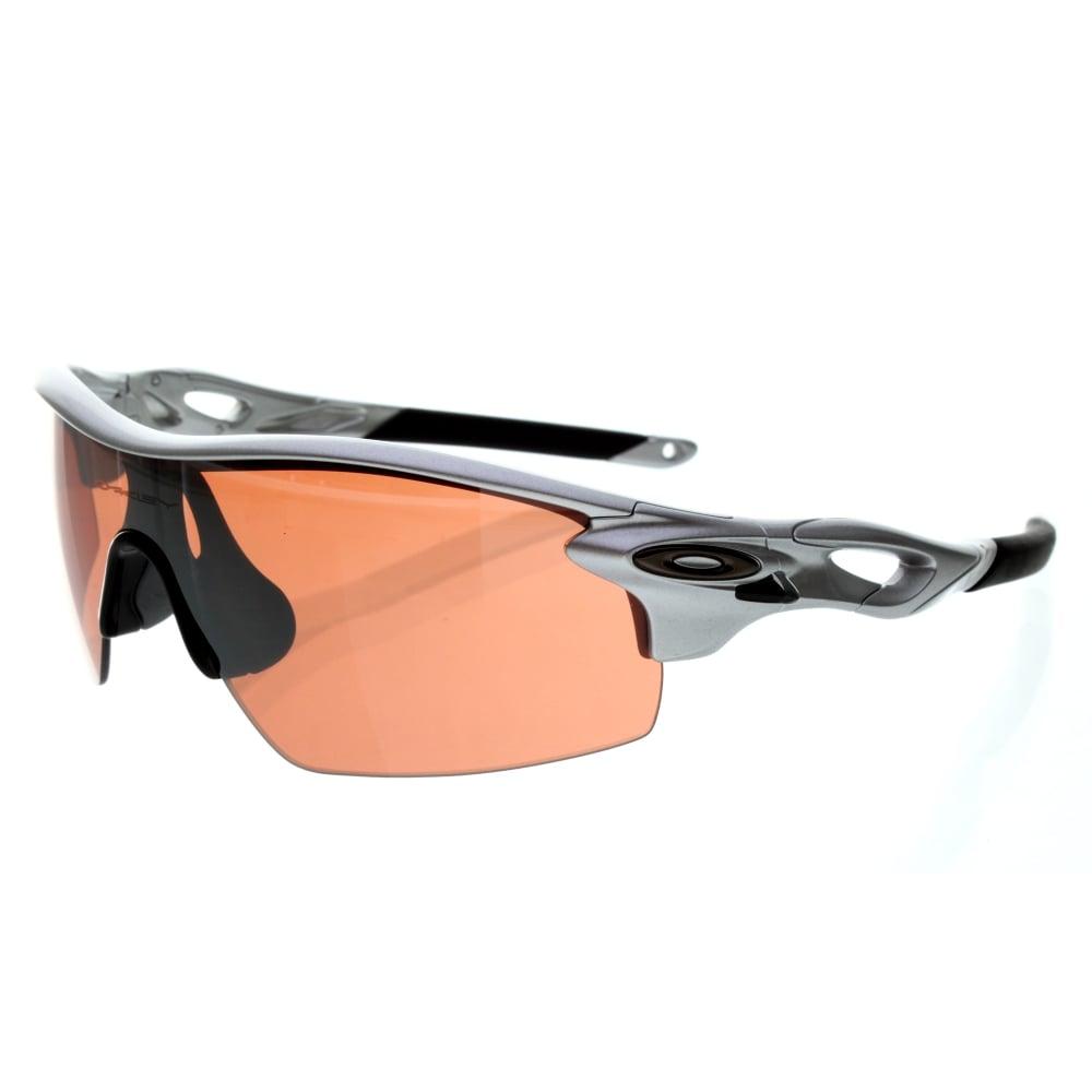 05de2449c6c4 Oakley Radarlock Pitch Sunglasses Silver OO9182-2238