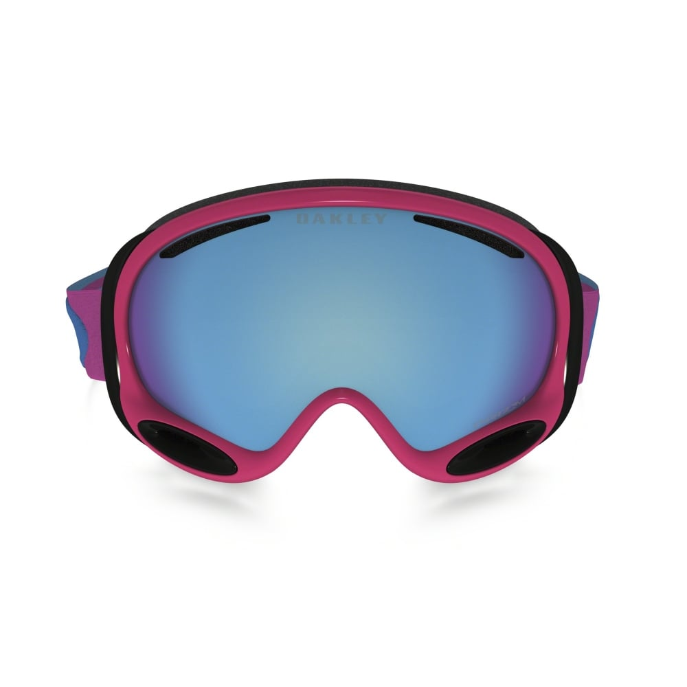 Oakley Prizm A Frame 2 0 Snow Goggle Rose Sapphire Oo7044 58