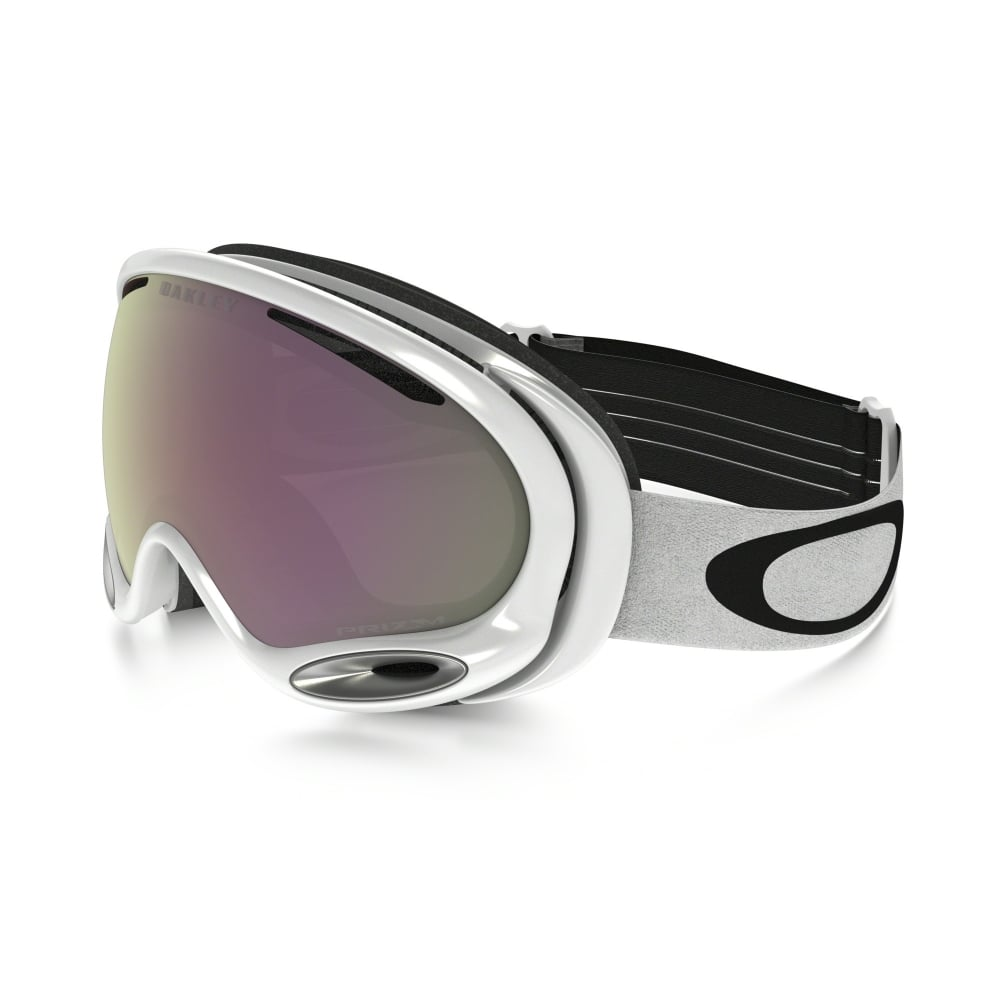 Oakley A Frame 2.0 Snow Goggles Polished White OO7044-55