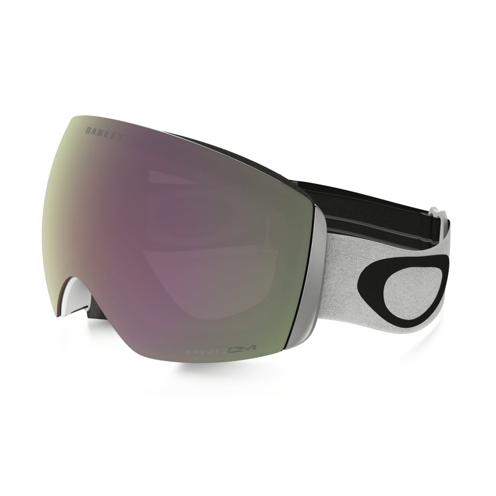 937eecf8c2 Oakley Prizm Flight Deck Snow Goggles Matte White OO7050-38