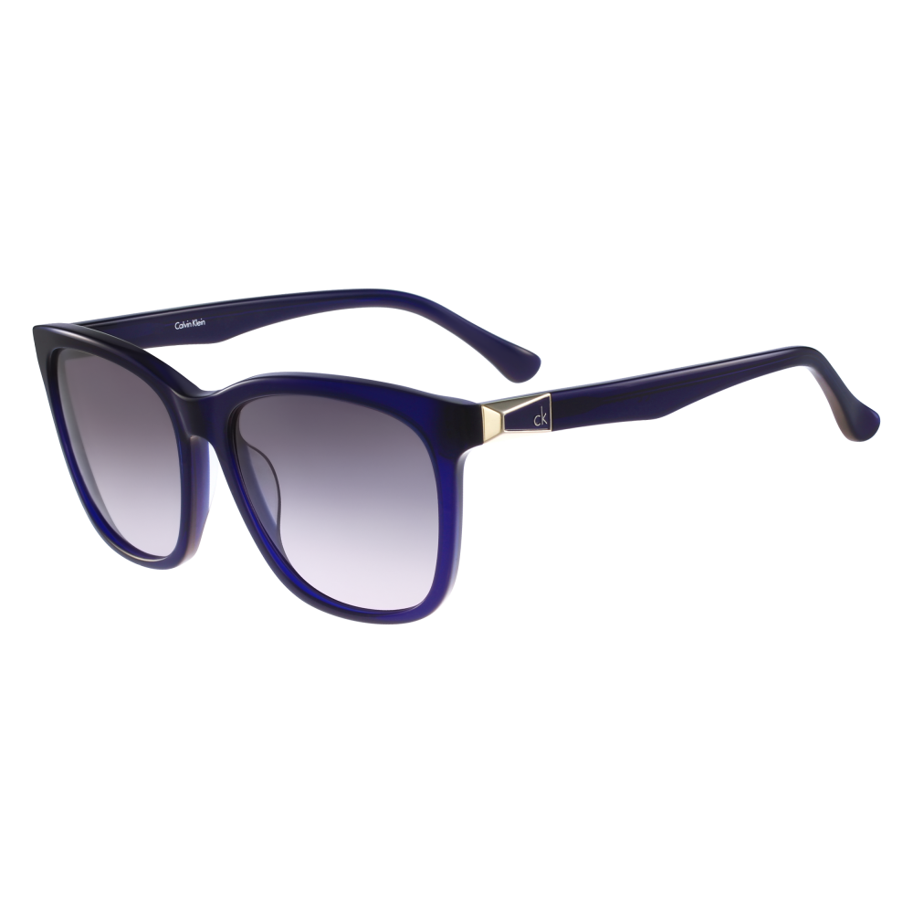 bca00c318500 Calvin Klein Women's CK4292S Sunglasses Blue CK4292S 438 57