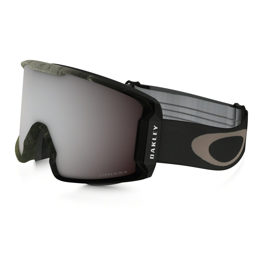 oakley line miner snow goggle obsessive lines green oo7070 26