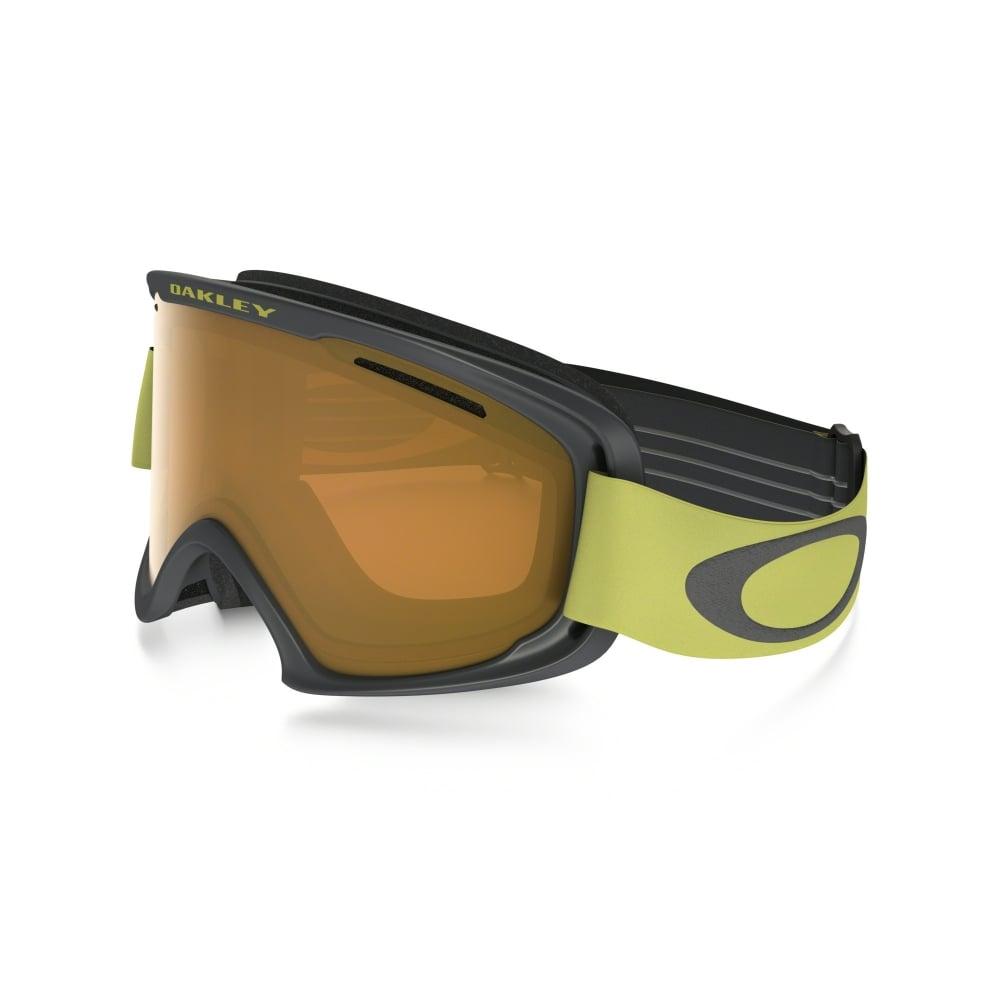 a8e06cbcfc Oakley O2 XM Snow Goggles Iron Citrus OO7066-36