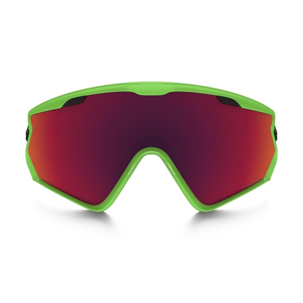 b230324db913c Oakley Prizm Wind Jacket 2.0 Snow Goggles Matte White OO7072-03