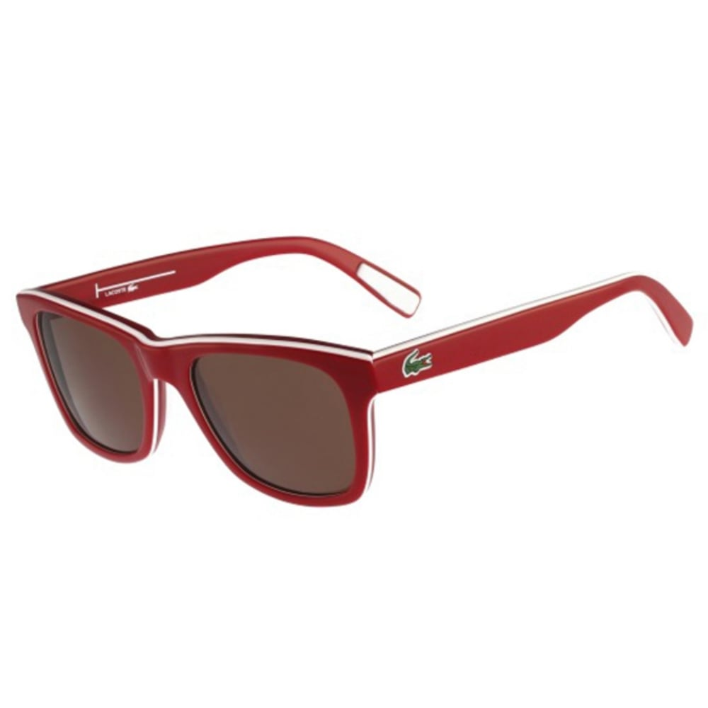 Lacoste L781S 615 52 red white red / brown 1eS3CY13w