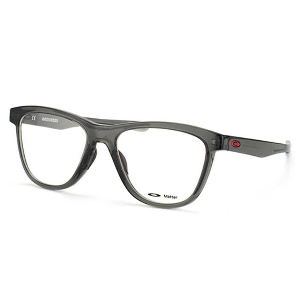 e69de25d66 Oakley Grounded Prescription Frame 53mm Grey Smoke OX8070-0353