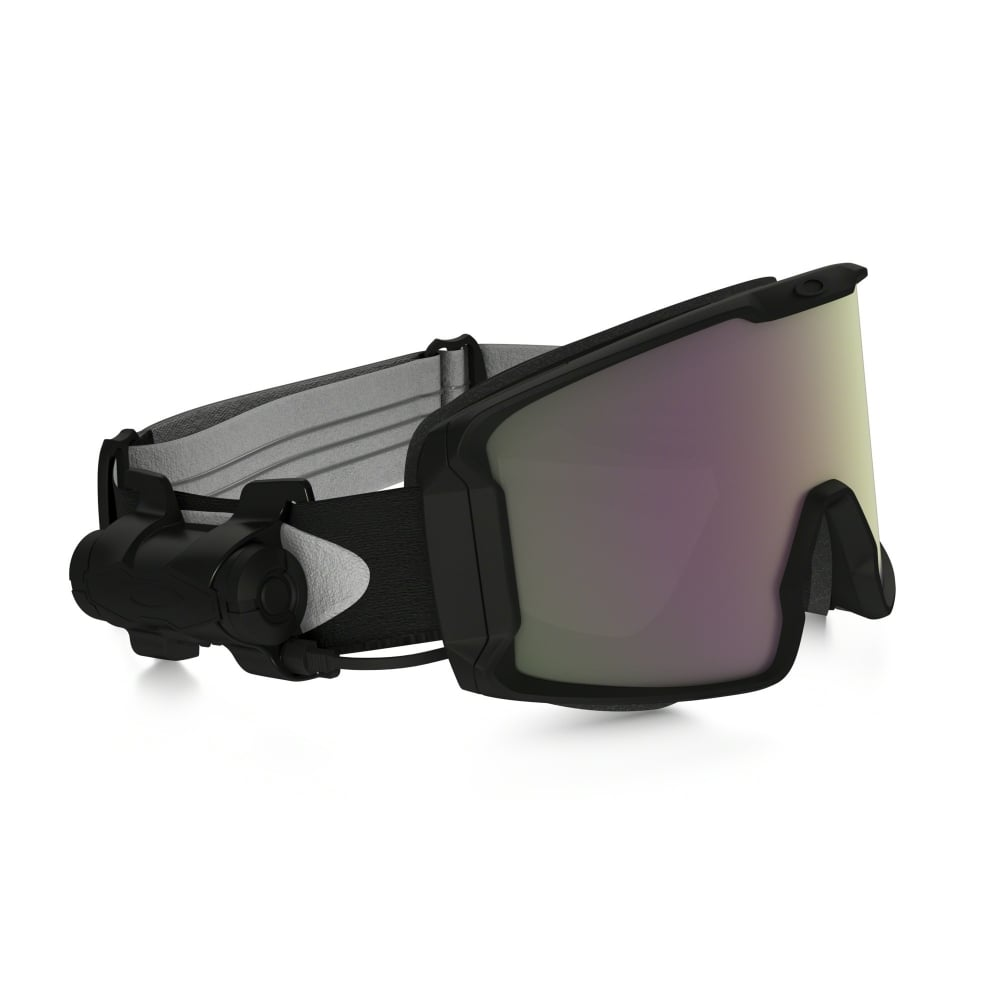 b210c519775 Oakley Prizm Inferno Line Miner Snow Goggle Matte Black OO7070-12