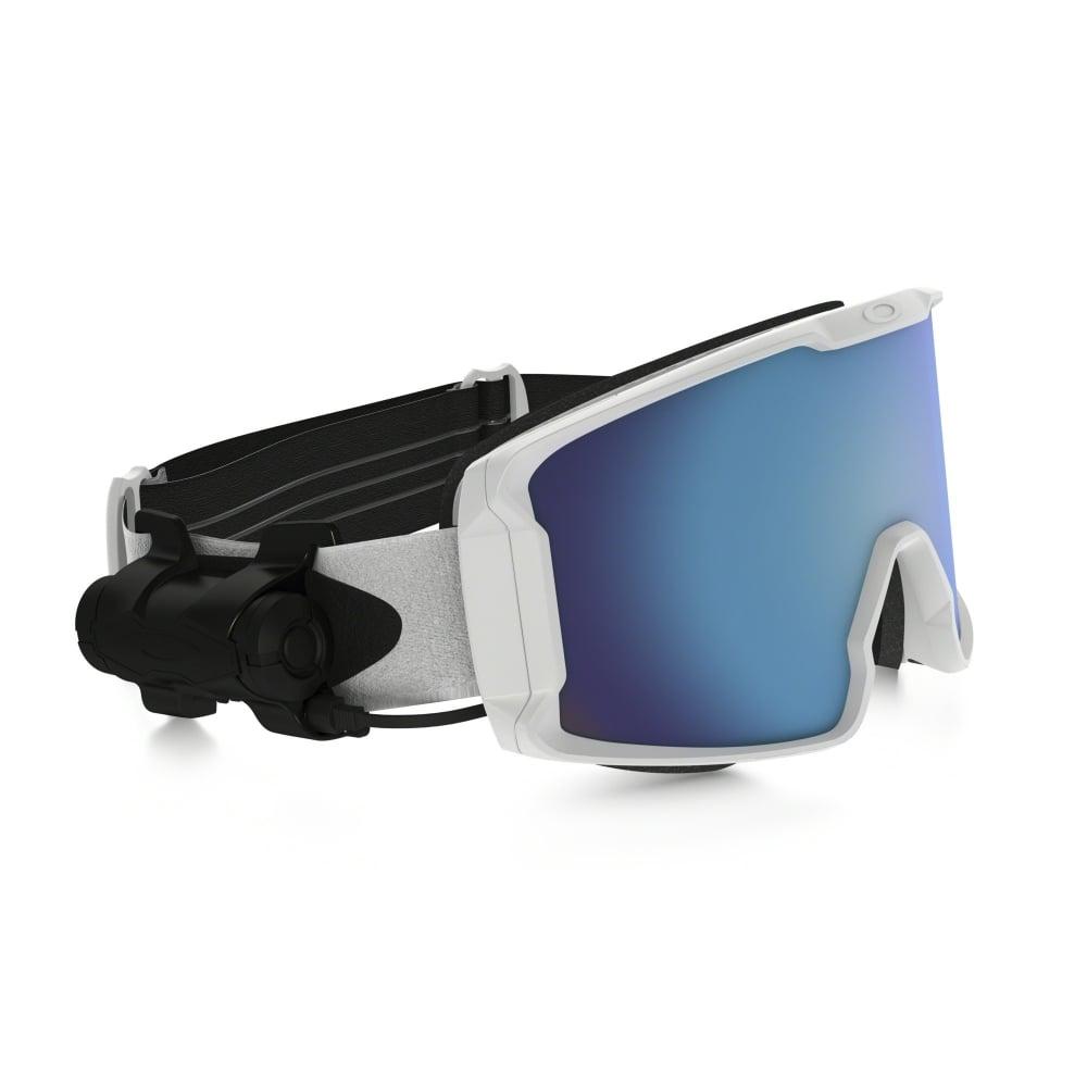 6fe6f9d3e62 Oakley Prizm Inferno Line Miner Snow Goggle Matte White OO7070-19