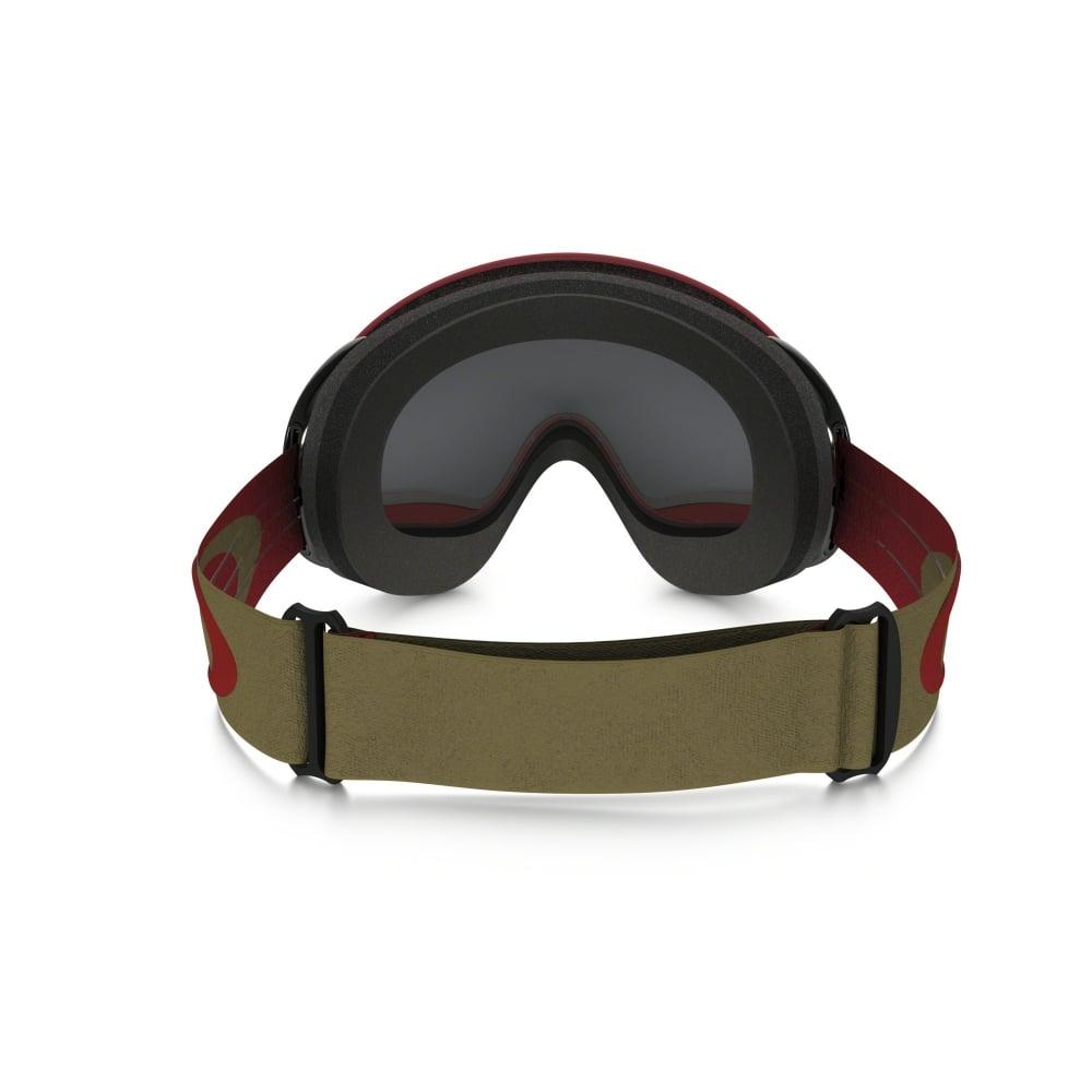 d553ac08c34 Oakley A Frame Ski Goggles Block Stripes Red