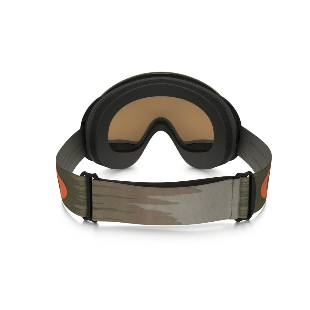Oakley A Frame 2.0 Snow Goggles Wet/Dry Olive Orange OO7044-43
