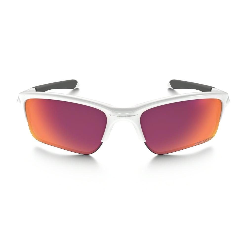 2ed7135cea Oakley Prizm Quarter Jacket Sunglasses White OO9200-09