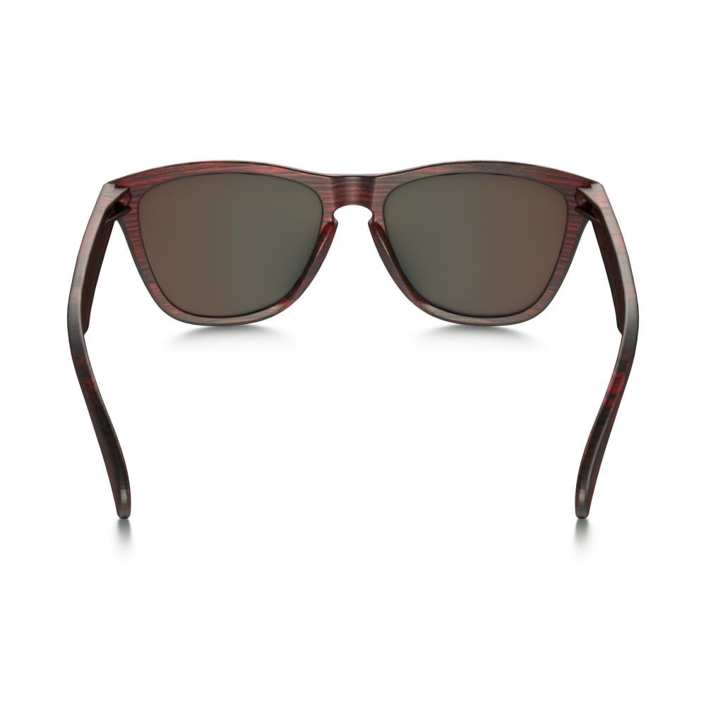 846e84df59 Oakley Frogskins Sunglasses Driftwood Collection Matte Red Woodgrain ...