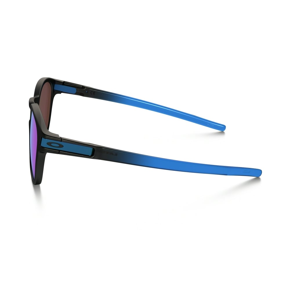 213f0e028a Polarized Oakley Prizm Latch Sunglasses Sapphire Fade OO9265-18