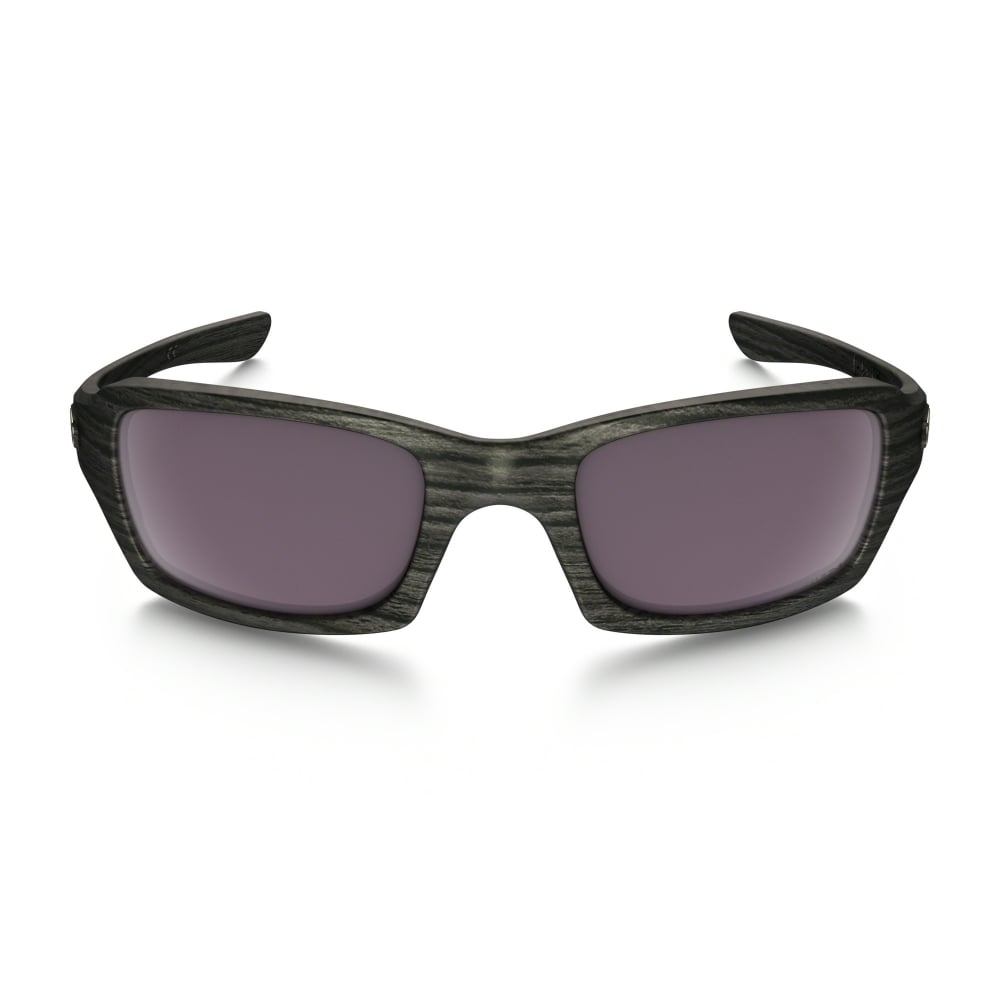 86b7e36dcd Polarized Oakley Prizm Fives Squared Sunglasses Woodgrain OO9238-19
