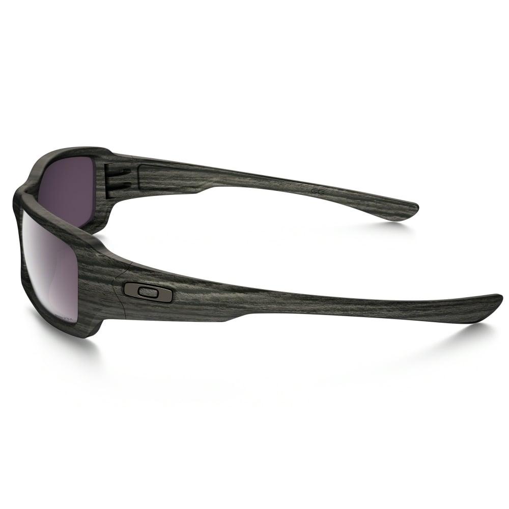 polarized oakley prizm fives squared sunglasses woodgrain. Black Bedroom Furniture Sets. Home Design Ideas