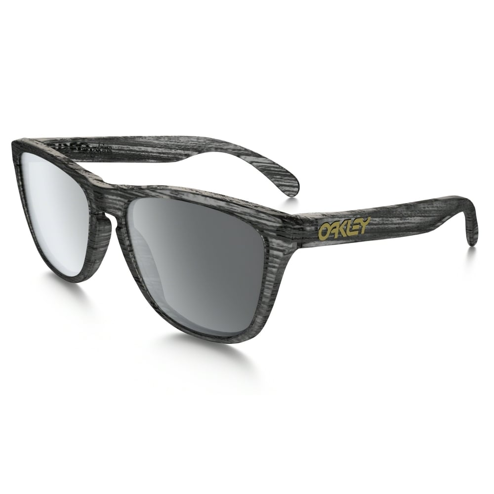 9a26a64d5d Oakley Frogskins Sunglasses Driftwood Collection Matte Clear Woodgrain  OO9013-B6