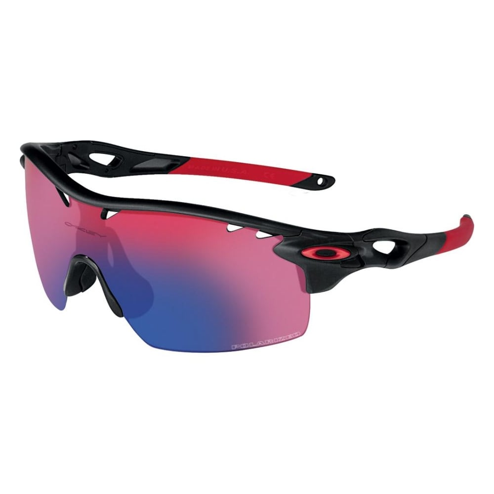 Oakley Sonnenbrille Radarlock XL Straight Stem, Matte Black Ink, One size, OO9196-06