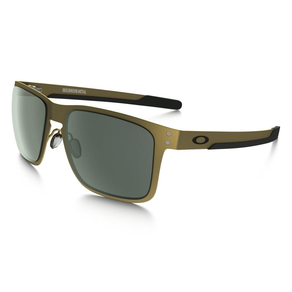 84685bad60f Oakley Holbrook Metal Sunglasses Gold Satin OO4123-08
