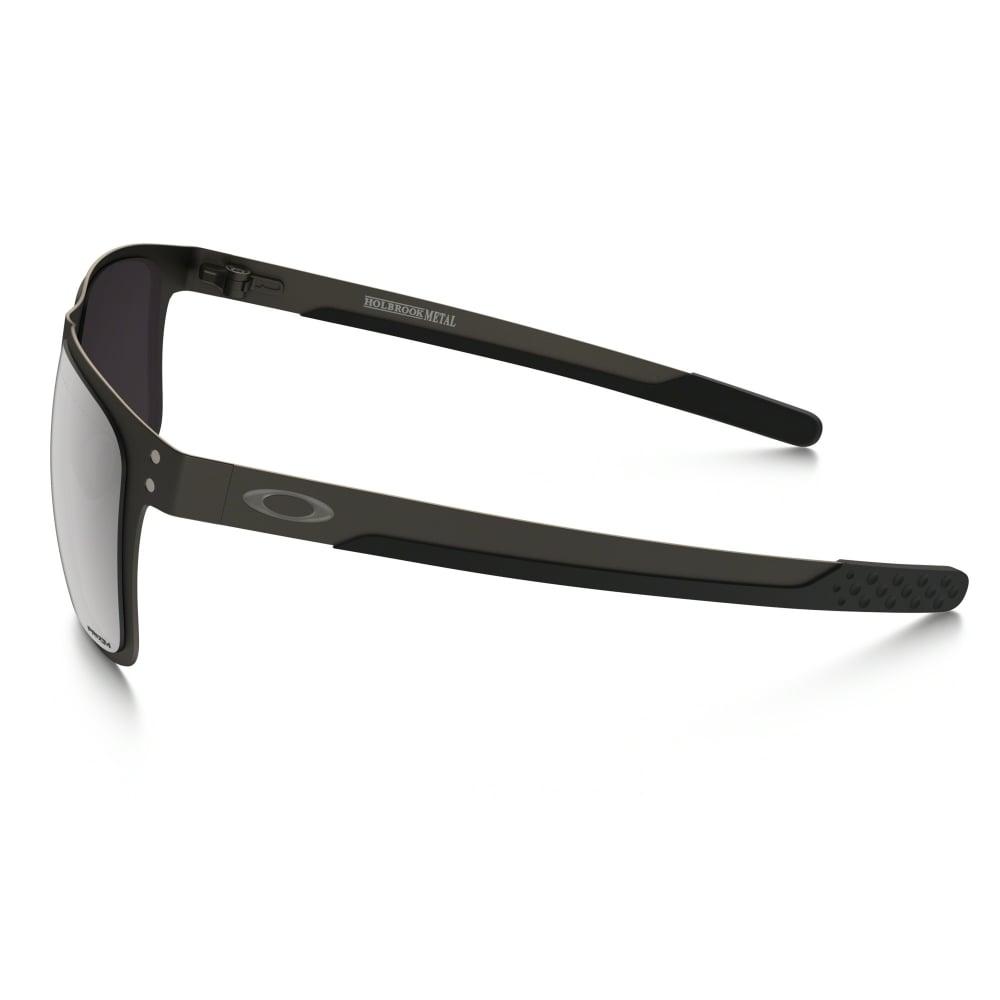 Polarized Oakley Prizm Holbrook Metal Sunglasses Matte Gunmetal ... d2c6b292e36