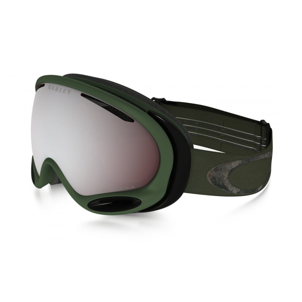 Oakley A Frame 2.0 Snow Goggles Metalist Army Green OO7044-64