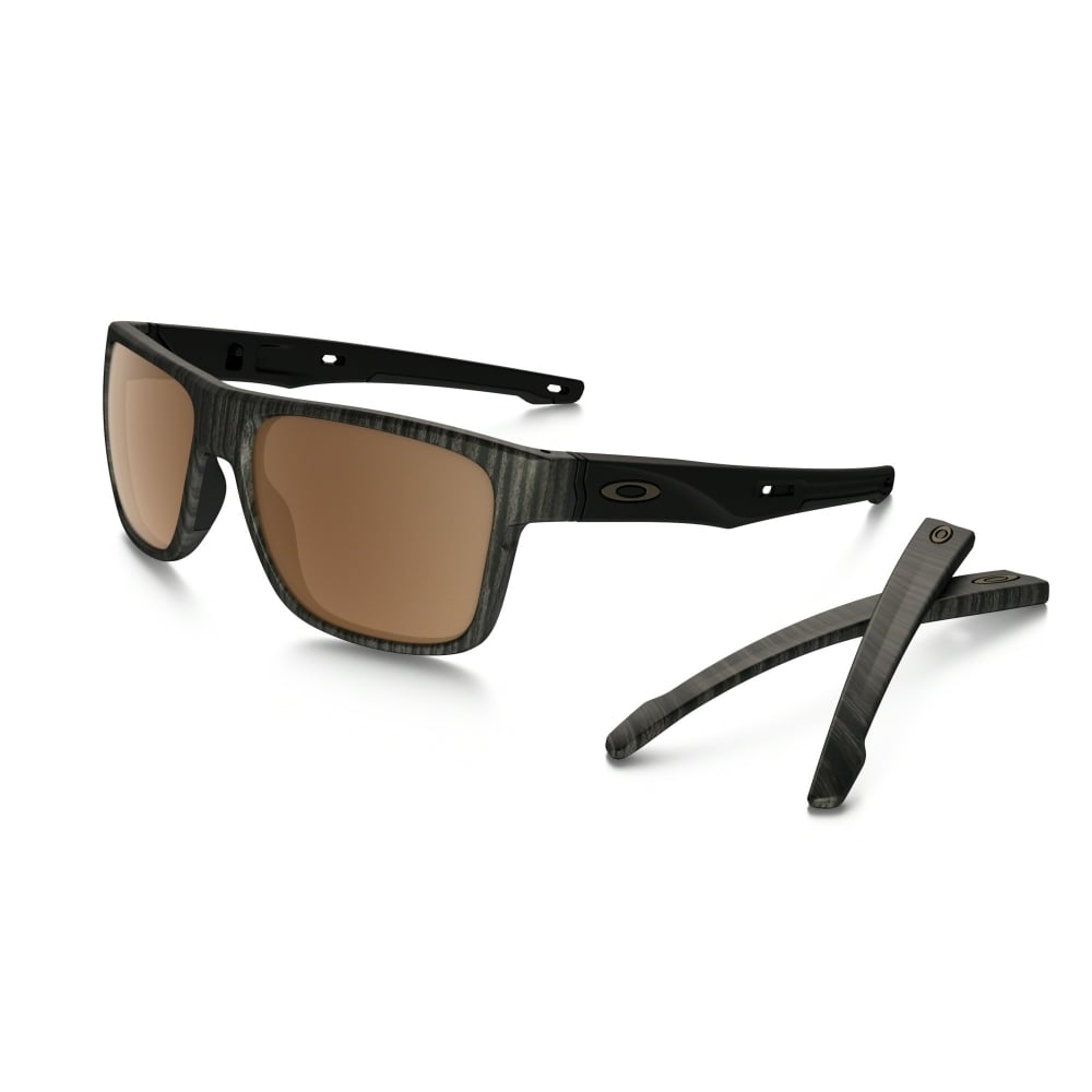 a84c7cc4a8 Polarized Oakley Prizm Crossrange Sunglasses Woodgrain OO9361-07