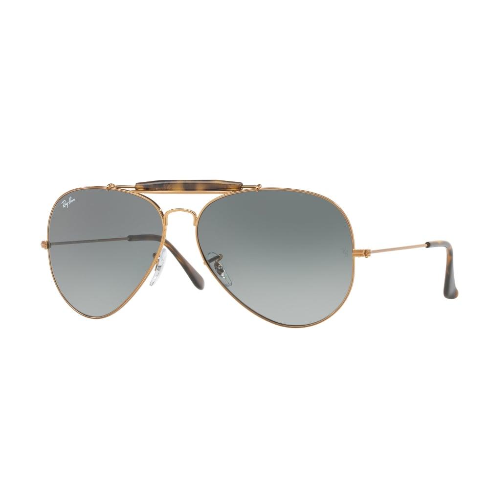 406f2cc7955 Ray-Ban Outdoorsman II Sunglasses Bronze Copper RB3029 197 71