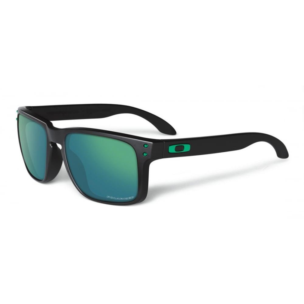 250c1b2992 Polarized Oakley Holbrook Sunglasses Polished Black OO9102-40