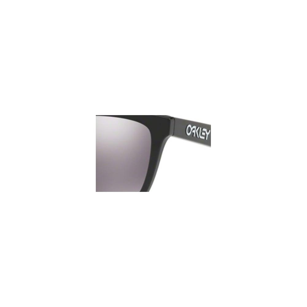 022222258f Oakley Prizm Frogskins Sunglasses Polished Black OO9013-C455