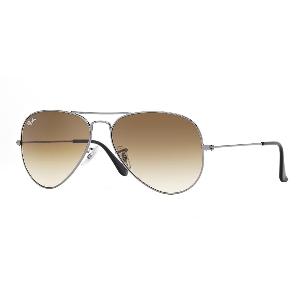 b985212cbb Ray-Ban Aviator Sunglasses Gunmetal RB3025 004 51 Large