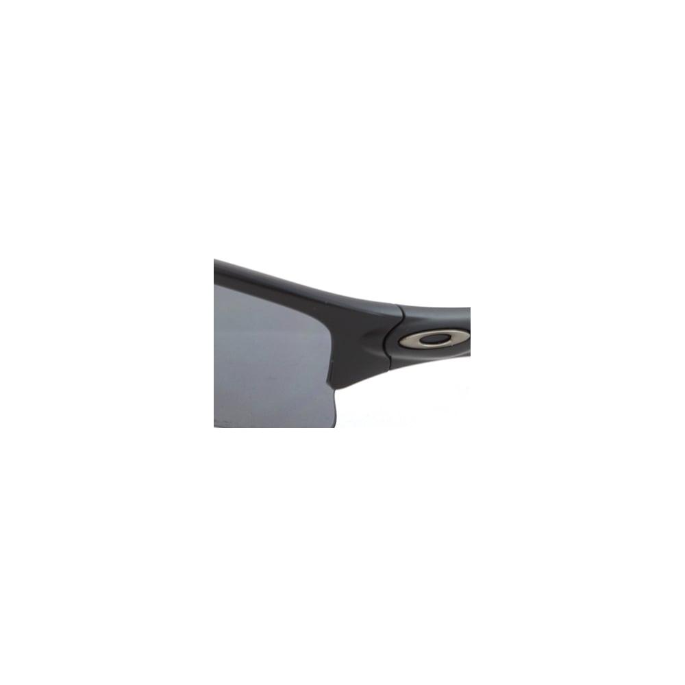 8e5873502d472 Polarized Oakley Quarter Jacket Sunglasses Black OO9200-07