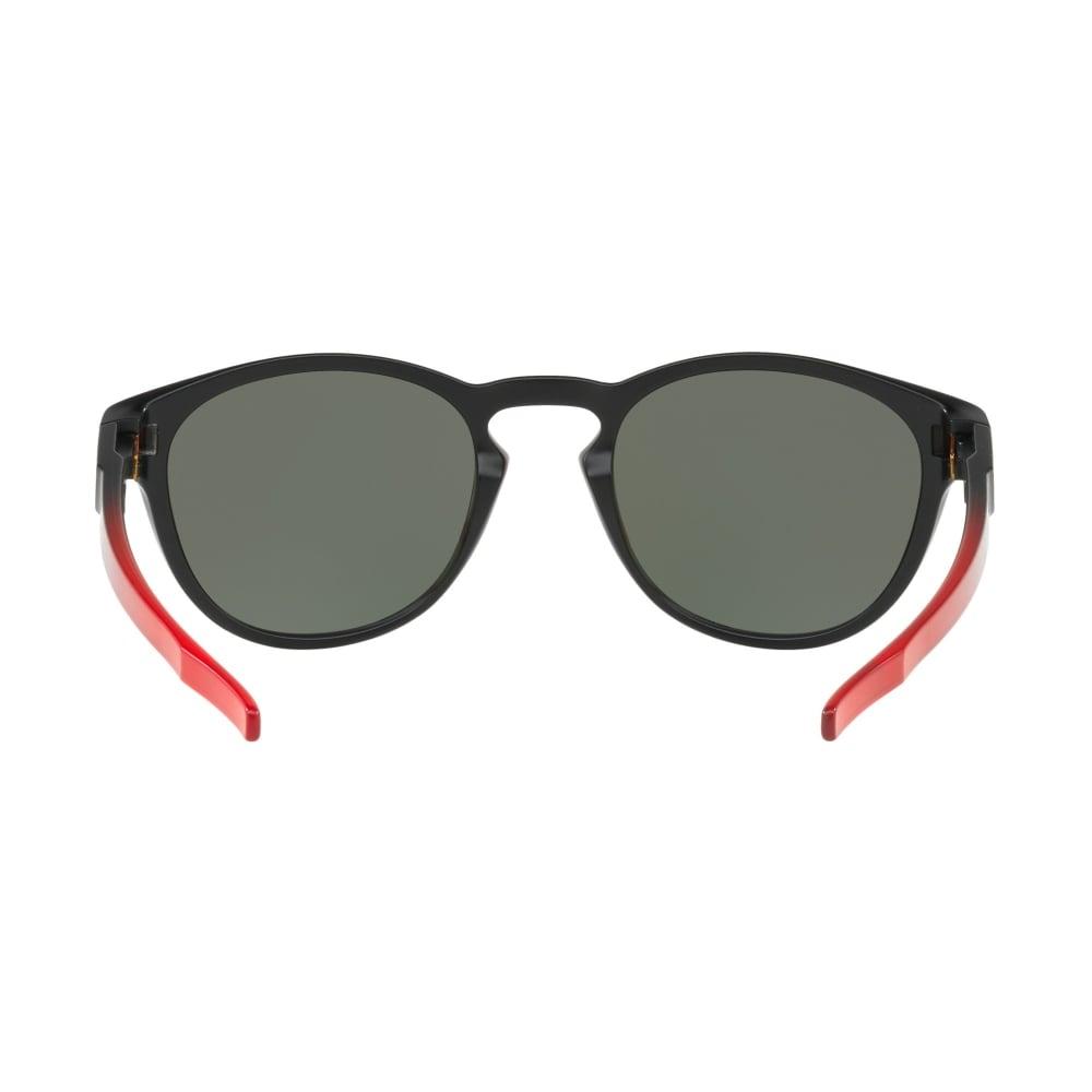 64577d1bff Polarized Oakley Prizm Latch Sunglasses Ruby Fade OO9265-2653
