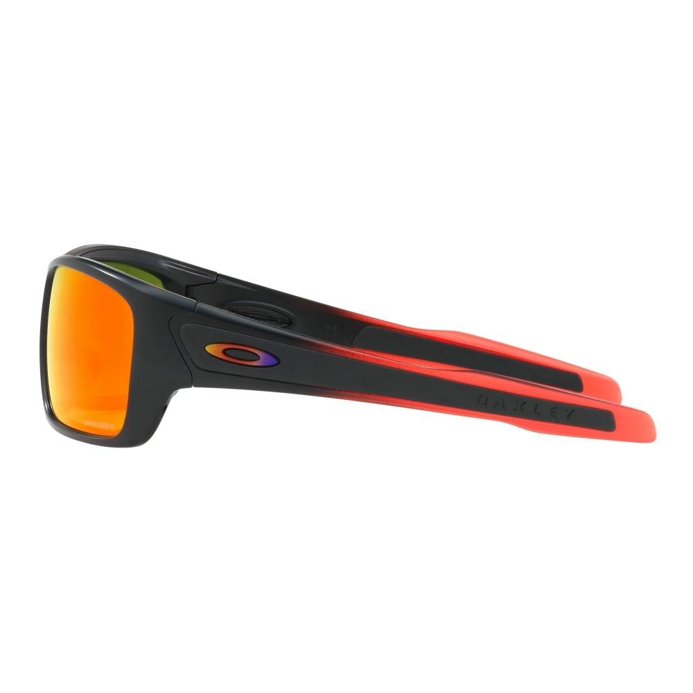 3f06db2ba6 Oakley Prizm Turbine Sunglasses Ruby Fade OO9263-3763