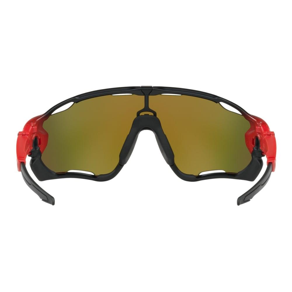 Oakley Jawbreaker Prizm Sonnenbrille (Ruby Gläser) - Sonnenbrillen - Performance Aero Grid Grey One Size Hlqw6l