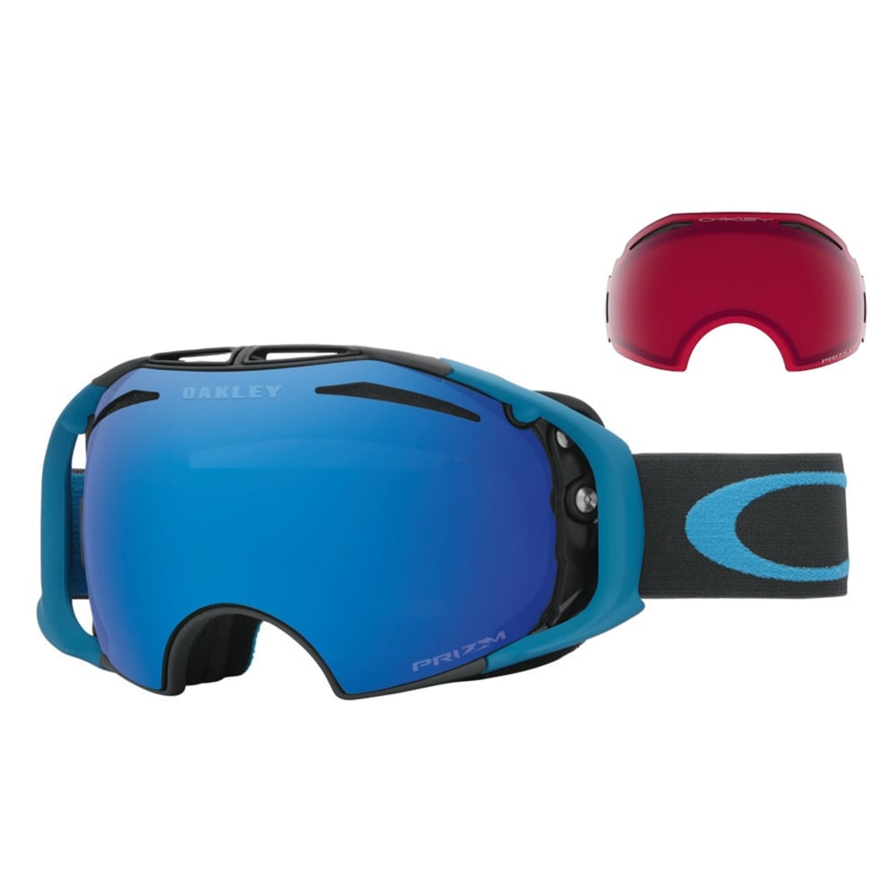 504d8bee6b5d Oakley Prizm Airbrake Snow Goggles Iron Legion Blue OO7037-53