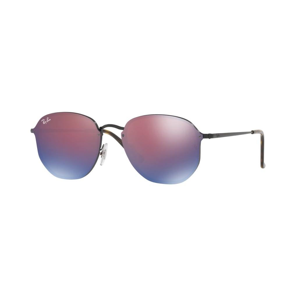 Ray-Ban Blaze Hexagonal Sunglasses Black RB3579N 153/7V