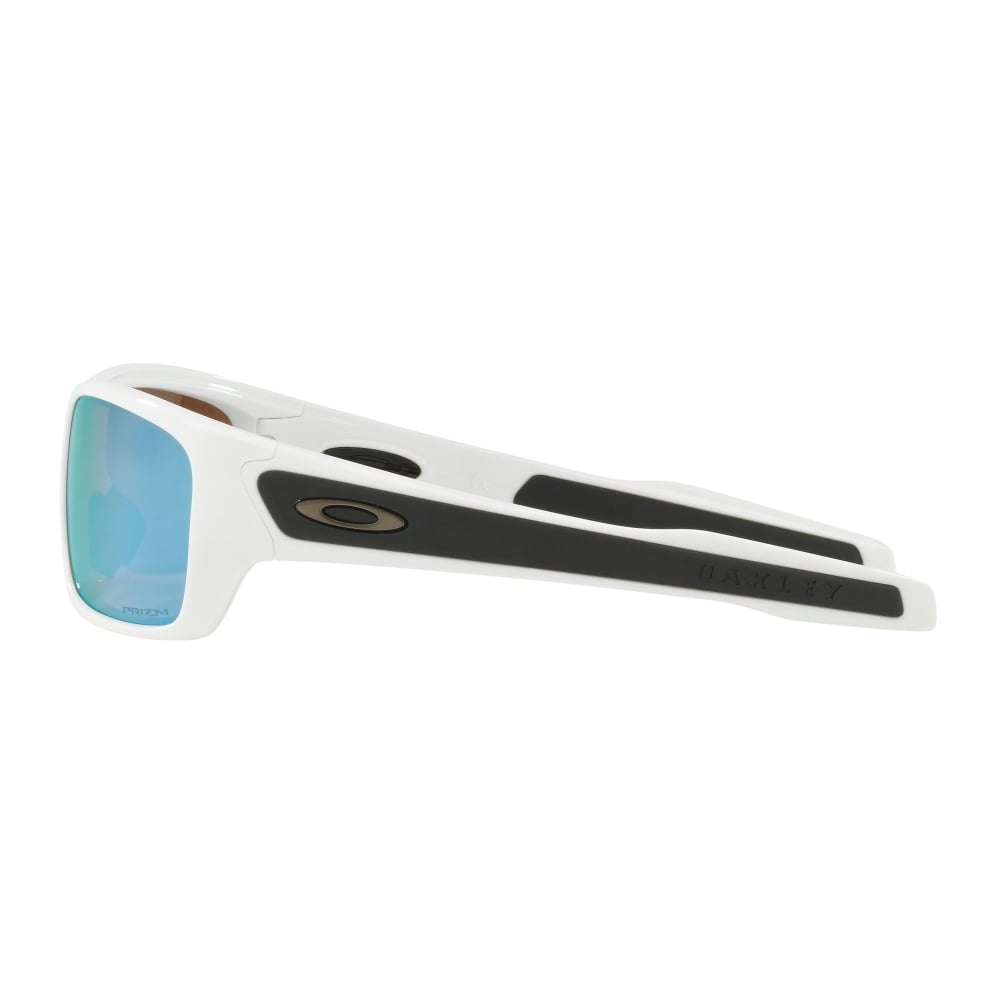1a0dbefb2b Polarized Oakley Prizm Youth Turbine XS Sunglasses Polished White ...