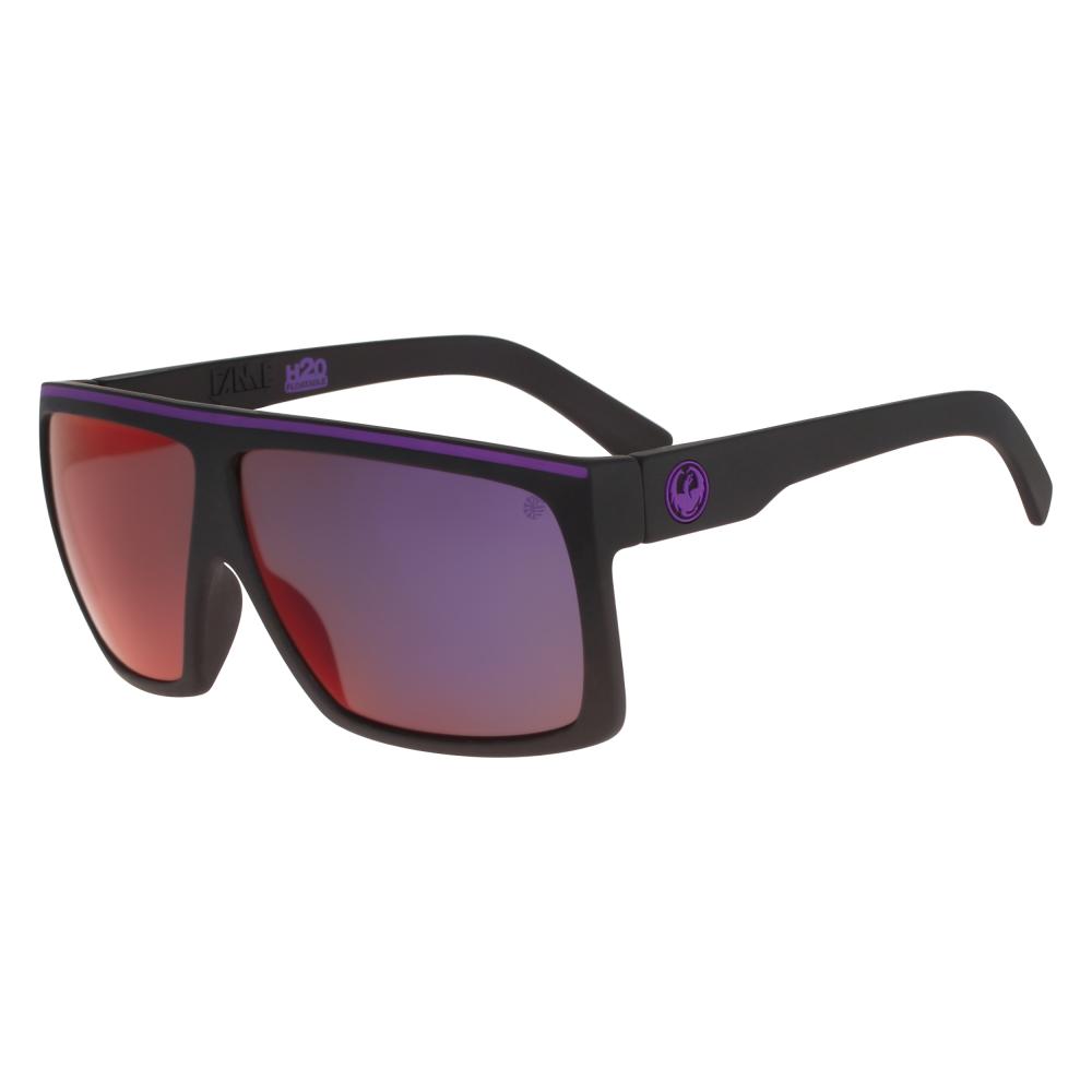 0997097e4e Polarized Dragon Fame Sunglasses Matte Black H20 28684-038