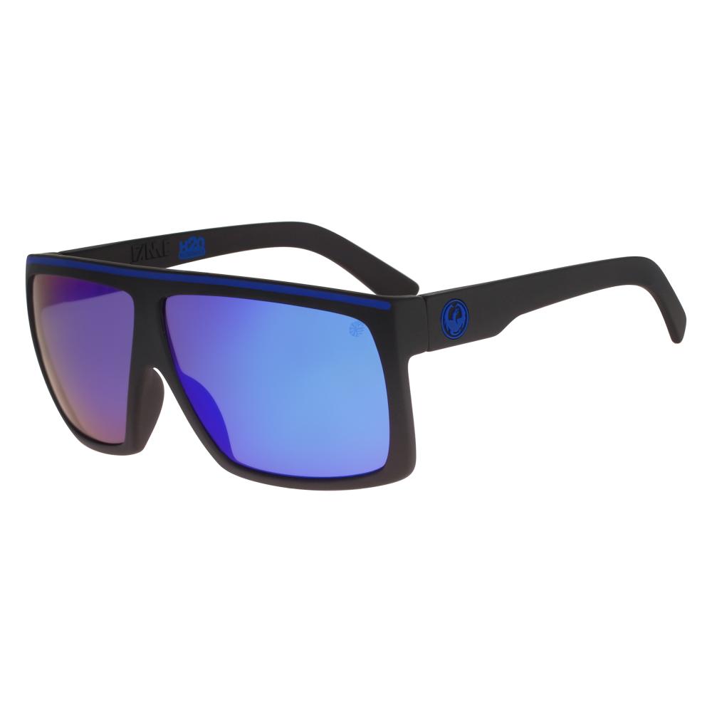 8eea5def80 Polarized Dragon Fame Sunglasses Matte Black H20 28684-044