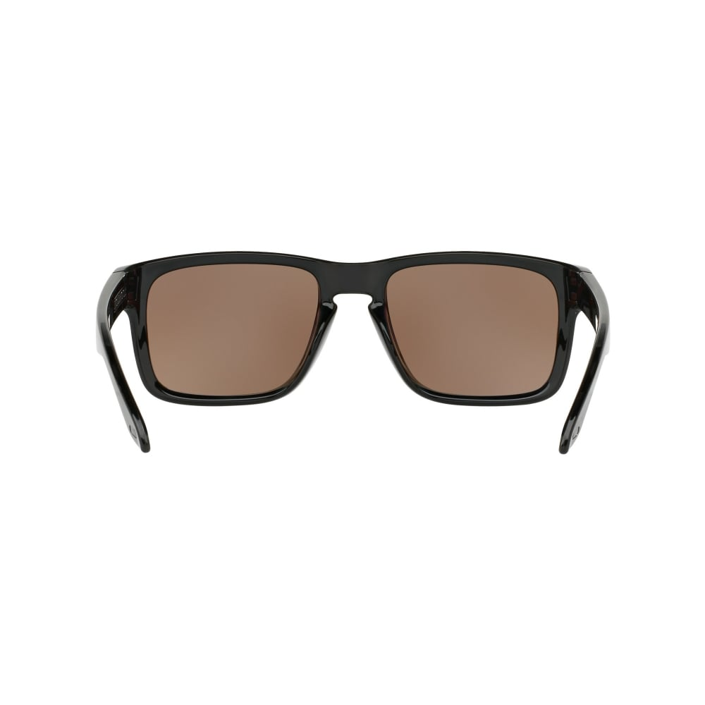 d7aaf0ed9ef1b Polarized Oakley Prizm Holbrook Sunglasses Polished Black OO9102-C1