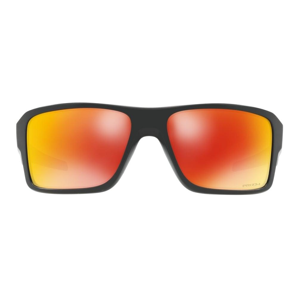 52289f8eaf379 Polarized Oakley Prizm Double Edge Sunglasses Matte Black OO9380-0566