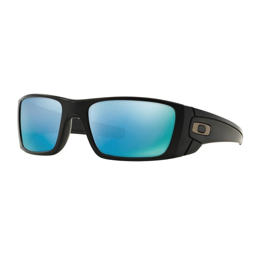 ad3772e752 Polarized Oakley Prizm Fuel Cell Sunglasses Matte Black OO9096-D8