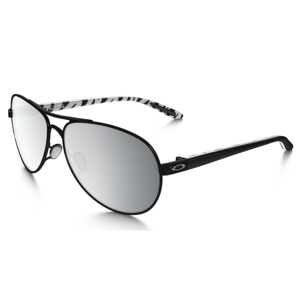 c3b9e1808 Polarized Oakley Feedback Sunglasses Metallic Black OO4079-24