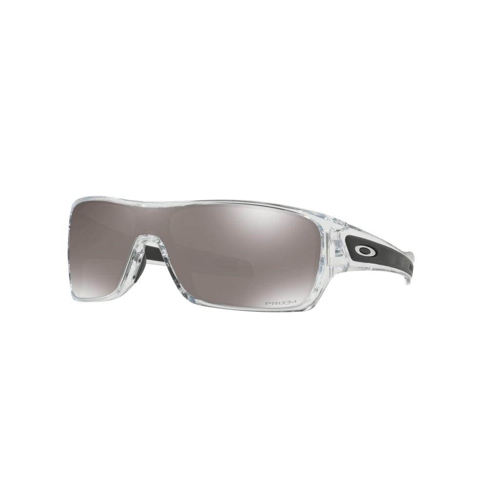 00d5c5146f0 Polarized Oakley Prizm Turbine Rotor Sunglasses Polished Clear OO9307-16