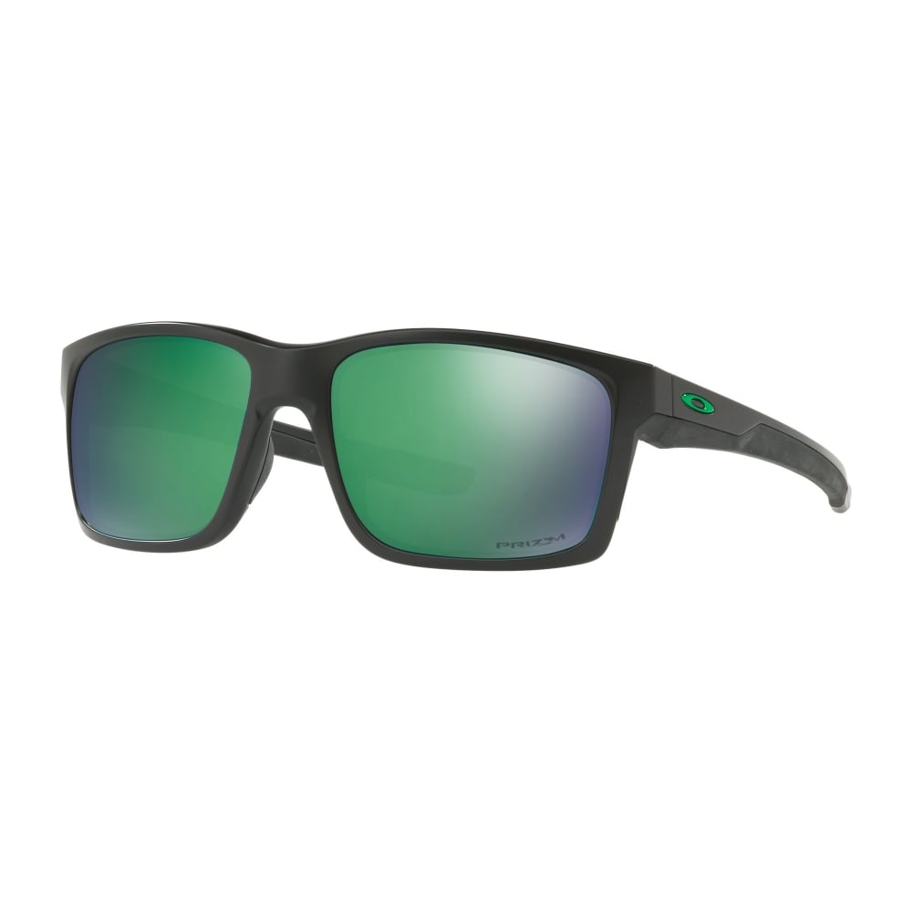 20bf5f8645 Polarized Oakley Prizm Mainlink Sunglasses Matte Black OO9264-34