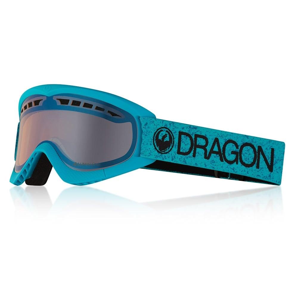 7c8ea6548ff8 Dragon Lumalens DXS Snow Goggles Blue 25792-873