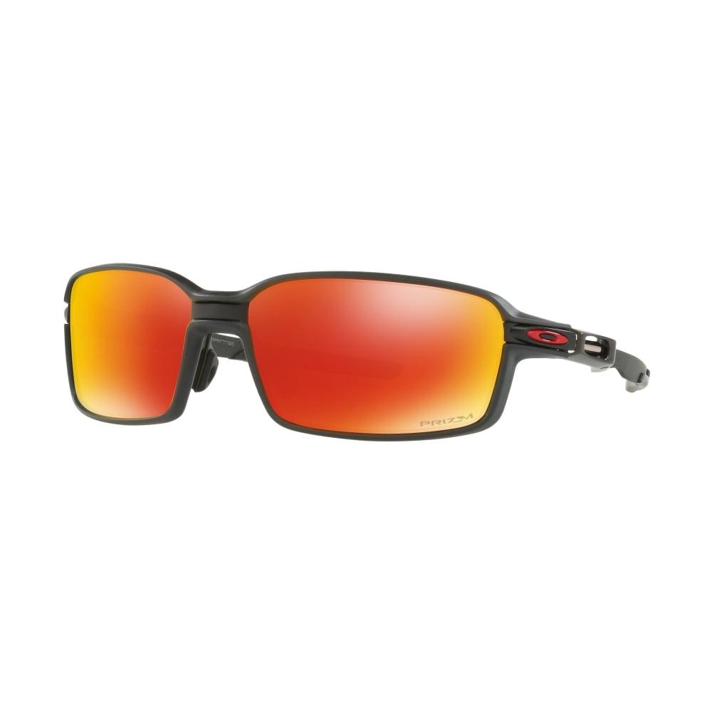 877b0c6a1d Polarized Oakley Prizm Carbon Prime Sunglasses Black Carbon Fibre ...